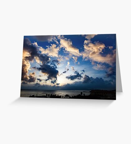 Morning Sky Vietnam Greeting Card