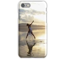 Leap into the Light iPhone Case/Skin