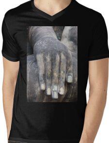 Hand of buddha Mens V-Neck T-Shirt