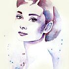 Audrey Hepburn by NeverBird