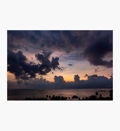 Morning Sky In Vietnam Photographic Print