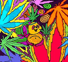 Kingstoned Psychedelic by Nattouf