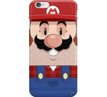 Red brother iPhone Case/Skin