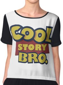 Cool story Bro toy Story Chiffon Top