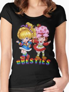 Besties Women's Fitted Scoop T-Shirt