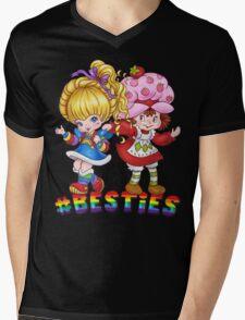 Besties Mens V-Neck T-Shirt