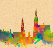 Skyline of Antwerp in Belgium Sticker