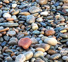 beach stones by Maureen Zaharie