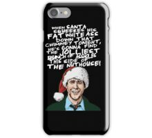 Griswold alternative Christmas card iPhone Case/Skin