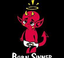 Born Sinner - Black by Khrystal Hernandez