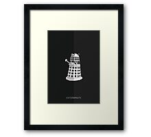 The Dalek Framed Print