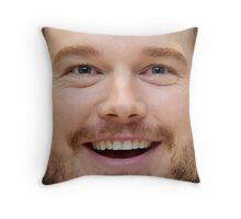Chris Pratt Face Throw Pillow II Throw Pillow