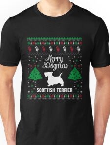 Merry Dogmas Scottish Terrier T-Shirt Unisex T-Shirt