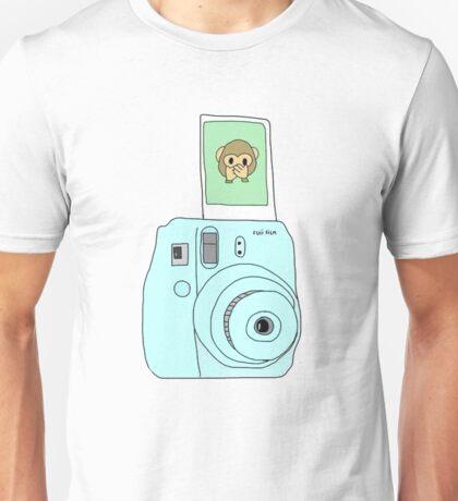 monkey emoji polaroid Unisex T-Shirt
