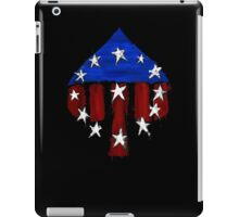 Courier's Ace of Spades iPad Case/Skin