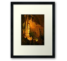 Beautiful Cave Interior Framed Print