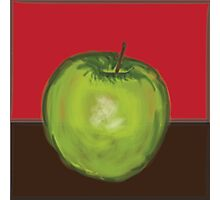 Hand Drawn/Painted Apple Photographic Print