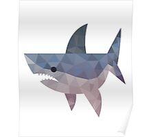 mosaic shark Poster
