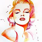 Marilyn Monroe by NeverBird