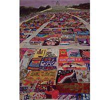 AIDS Quilt Photographic Print