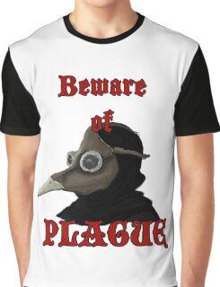 Beware of Plague Graphic T-Shirt