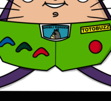 TotoBuzz Lightyear Sticker