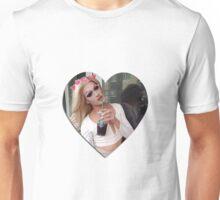 Pearl Heart Unisex T-Shirt