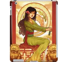 Warrior Part II iPad Case/Skin