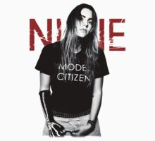 "Nune Merch ""Model Citizen"" Kids Tee"