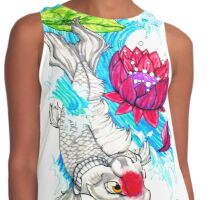 the alabaster koi Contrast Tank