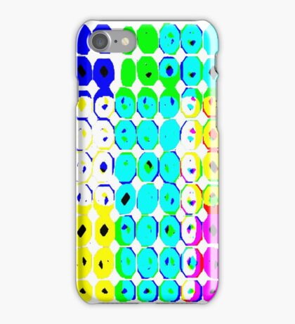 Circles #1.1 No Background iPhone Case/Skin