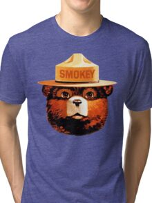 Smokey The Bear Tri-blend T-Shirt