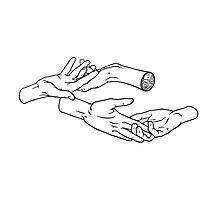 Heavy hands. Photographic Print