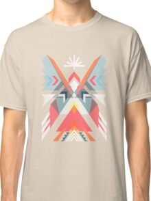 Abstract geometric indian symbol Classic T-Shirt