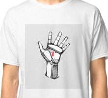 Jesus Christ hand illustration Classic T-Shirt