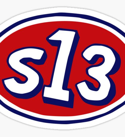 S13 STP Vintage Fan Decal Sticker