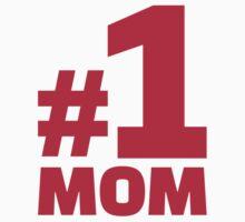 Number No. 1 Mom by Designzz
