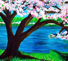 Cherry Blossoms 2 by Aletha Keogh