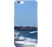 misquamicut coastline, rhode island 2007 iPhone Case/Skin