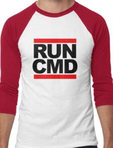 RUN CMD - black version Men's Baseball ¾ T-Shirt