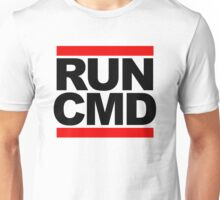 RUN CMD - black version Unisex T-Shirt