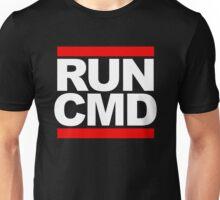 RUN CMD - white version Unisex T-Shirt