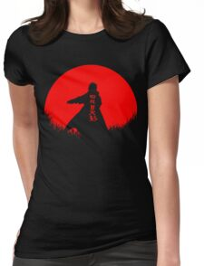 Minato Silhouette Womens Fitted T-Shirt