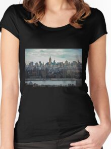Empire State Building Women's Fitted Scoop T-Shirt