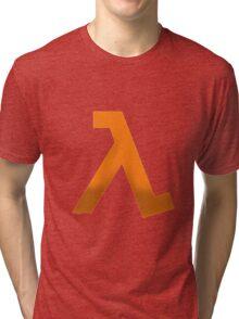 Half life logo shirt Tri-blend T-Shirt