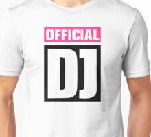 Official DJ Unisex T-Shirt