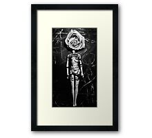 Beautiful Mind- Black and White Framed Print