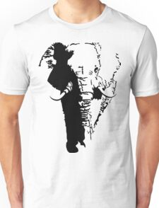 The Magestic African Elephant Unisex T-Shirt