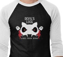 Devil's Luck - Live Free Ride Men's Baseball ¾ T-Shirt
