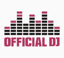 Official DJ Equalizer Kids Tee
